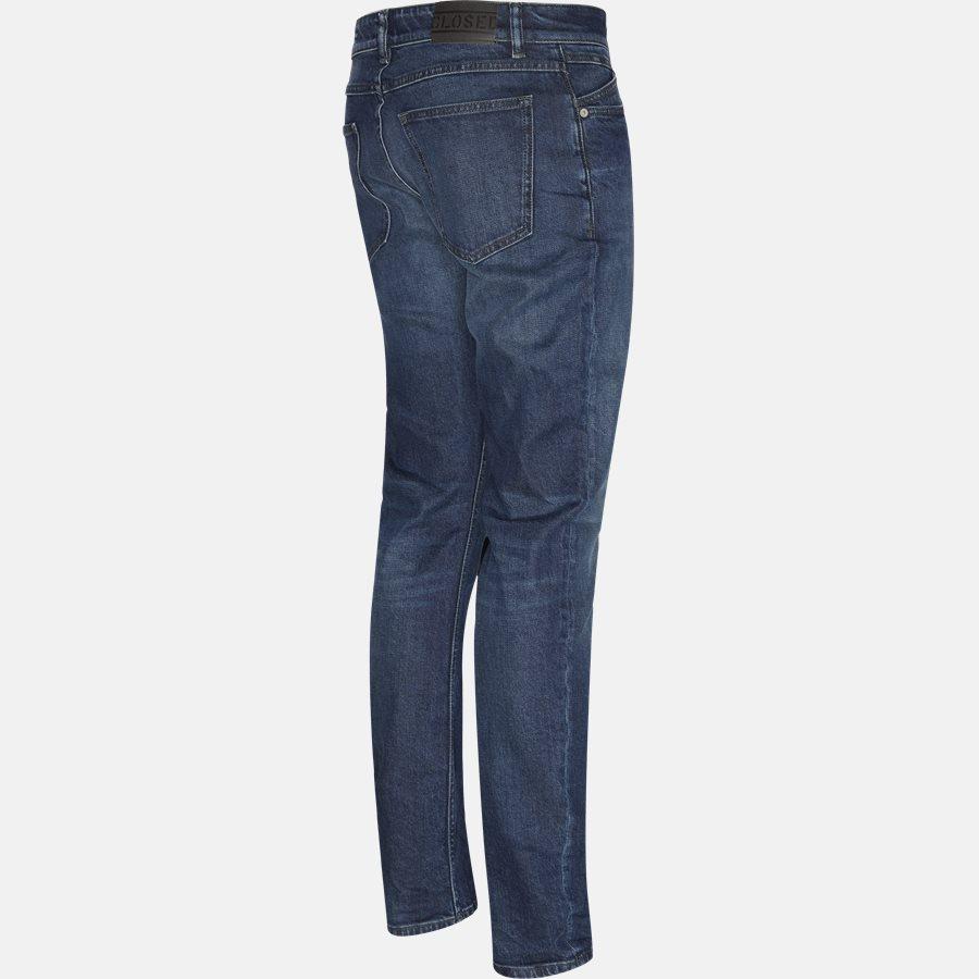 C3X 102 OEA-8A UNITY SLIM - Jeans - Slim - DARK BLUE - 3
